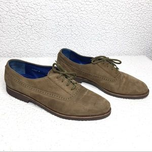 Bruno Magli Suede Leather Logan Oxford Dress Shoes